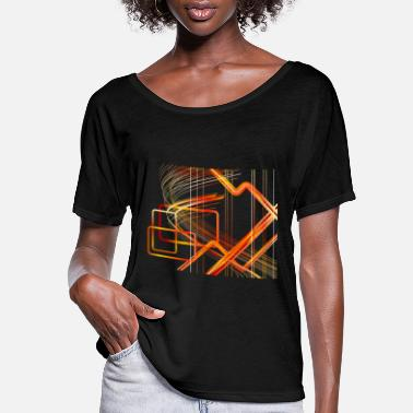 Art Design Abstract design art - Women's Flowy T-Shirt