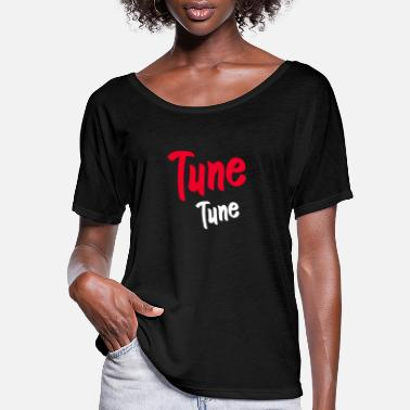 Tuning Tune Tune - Women's Flowy T-Shirt