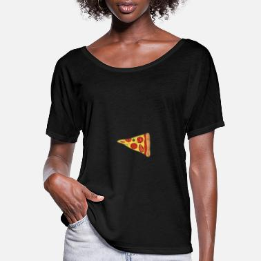 Pizza Slice Pizza - Slice pizza - Women's Flowy T-Shirt