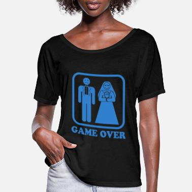 Game Over Game Over - Women's Flowy T-Shirt