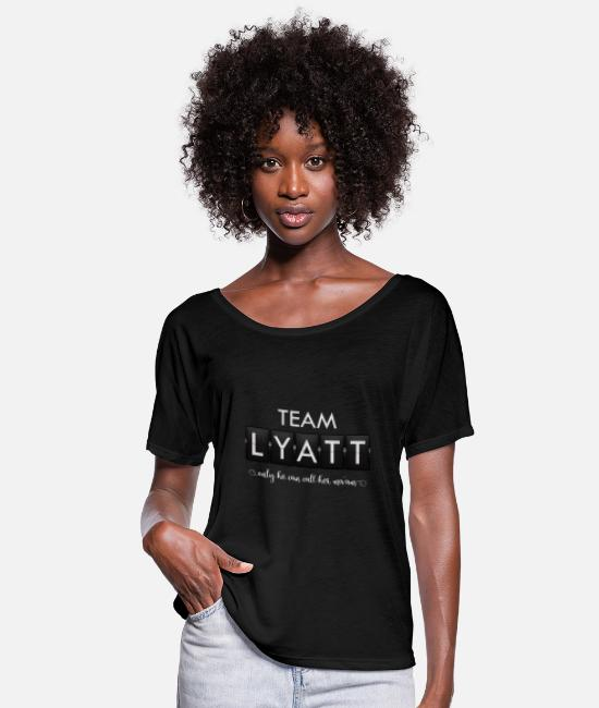 Timeless T-Shirts - Timeless - Team Lyatt - Women's Flowy T-Shirt black