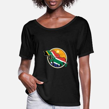 South South Africa - Women's Flowy T-Shirt
