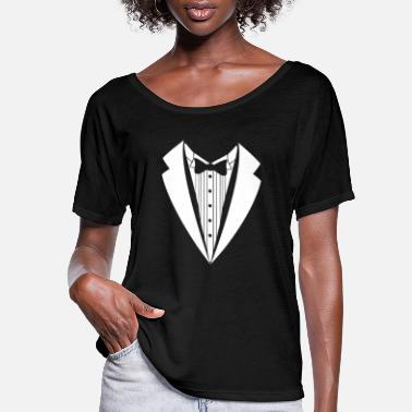 Suit suit - Women's Flowy T-Shirt