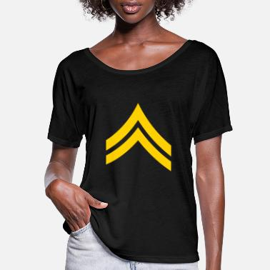 Corporate Corporal - Women's Flowy T-Shirt