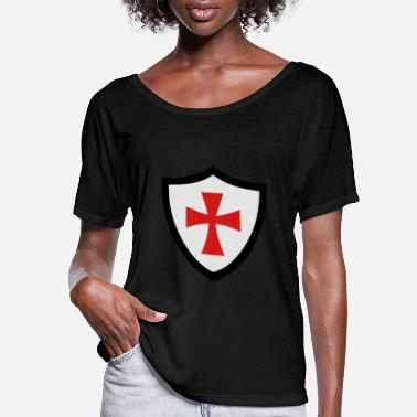 Shield shield - Women's Flowy T-Shirt