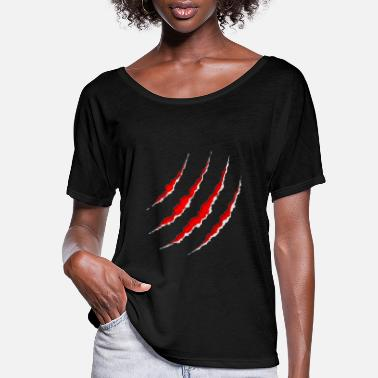 Wounded Wounds - Women's Flowy T-Shirt