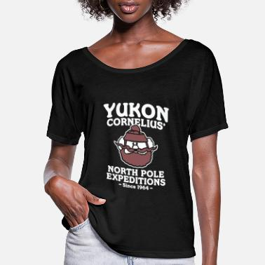 North Pole Yukon Cornelius North Pole Expeditions - Women's Flowy T-Shirt