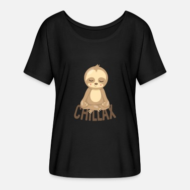 Chillaxing CHILLAX - Women's Flowy T-Shirt