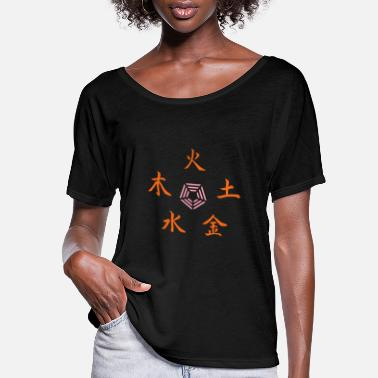 Religion five elements - Women's Flowy T-Shirt