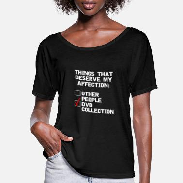 Dvd DVD collector funny affection - Women's Flowy T-Shirt