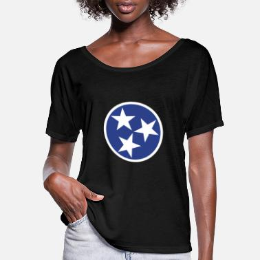 Flag Tennessee State Flag - Women's Flowy T-Shirt
