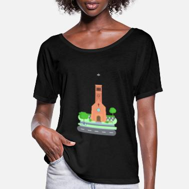 Church church - Women's Flowy T-Shirt
