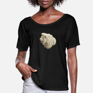Picture White Lion - Women's Flowy T-Shirt
