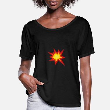 Explosion Explosion - Women's Flowy T-Shirt