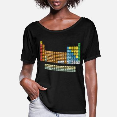 Periodic Table Periodic Table of Elements - Women's Flowy T-Shirt