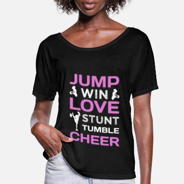 Cheerleading Cheerleader Design for a Cheerleader - Women's Flowy T-Shirt