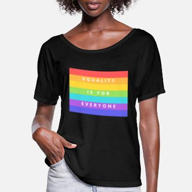Sexuality Gay Pride Gay Lesbians Bisexuel Queer - Women's Flowy T-Shirt