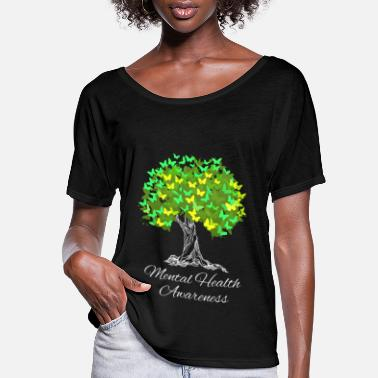 Mental Mental Health Awareness - Women's Flowy T-Shirt