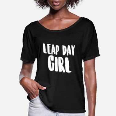 Leap Leap Day 2020 Birthday Gift I Leap Year February - Women's Flowy T-Shirt