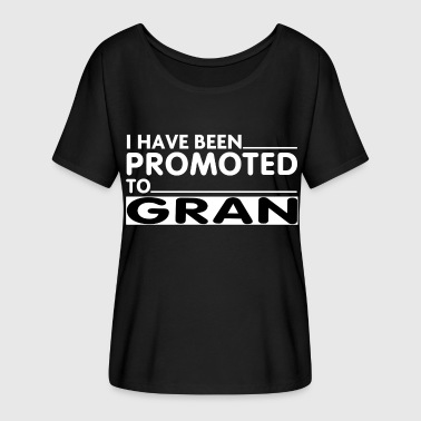 PROMOTED TO GRAN - Women's Flowy T-Shirt