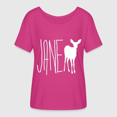 jane_doe__max_life_is_strange_wht_ver - Women's Flowy T-Shirt