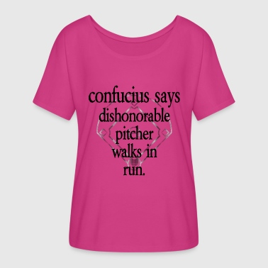 Confucius Says [1] - Persephone Productions - Women's Flowy T-Shirt