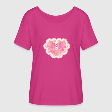 CANDY C - Women's Flowy T-Shirt