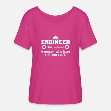 Graduation Engineer Engineer Definition Engineers Study Gift - Women's Flowy T-Shirt