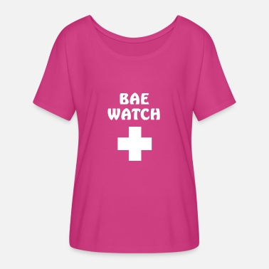 Rescue Services Bae watch rescue service - Women's Flowy T-Shirt