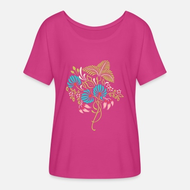 Flowercontest Cool spring bouquet of flowers flowercontest - Women's Flowy T-Shirt