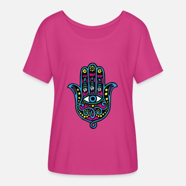 Fatima Hand of Fatima - Women's Flowy T-Shirt