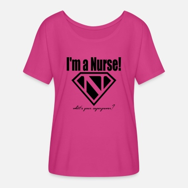 Super Nurse - Women's Flowy T-Shirt