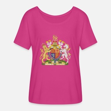 The British Empire British Empire Flag - Women's Flowy T-Shirt