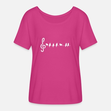 Bird bird song - Women's Flowy T-Shirt