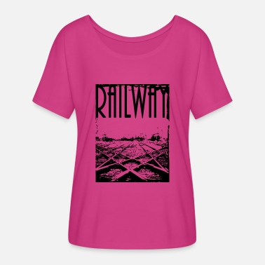 Railway Workers Railway - Women's Flowy T-Shirt