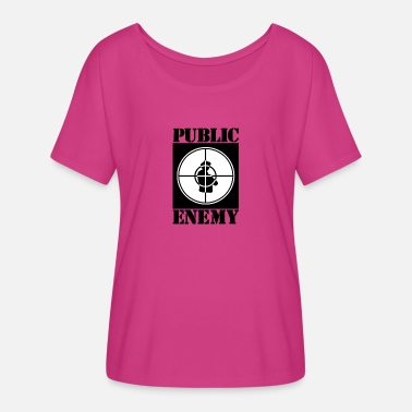 Public Holiday Public enemy - Women's Flowy T-Shirt