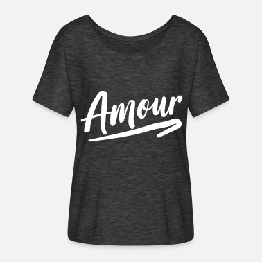 Amour Amour - Women's Flowy T-Shirt