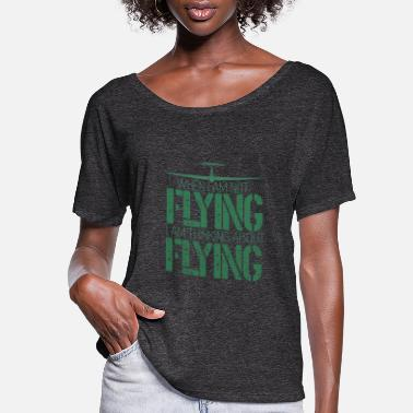 Gliding and glider flying - Women's Flowy T-Shirt