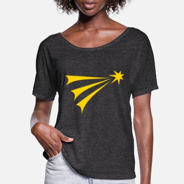 Shooting Star Shooting Star - Women's Flowy T-Shirt