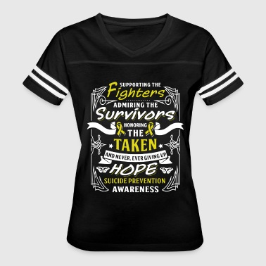 supporting the fighters admiring the survivors hon - Women's Vintage Sport T-Shirt