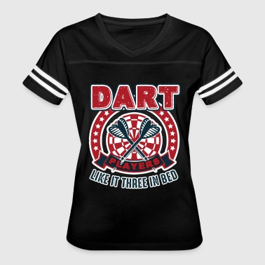 Dart Players Shirt - Women's Vintage Sport T-Shirt