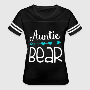 Aunty And Son auntie bear - Women's Vintage Sport T-Shirt