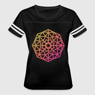 Inverted Snowflake - Women's Vintage Sport T-Shirt