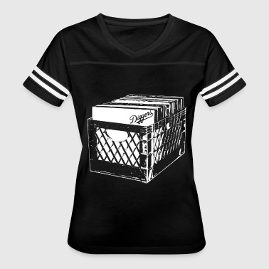 Dope Hiphop CRATE DIGGERS RECORD COLLECTOR DJ CLASSIC - Women's Vintage Sport T-Shirt