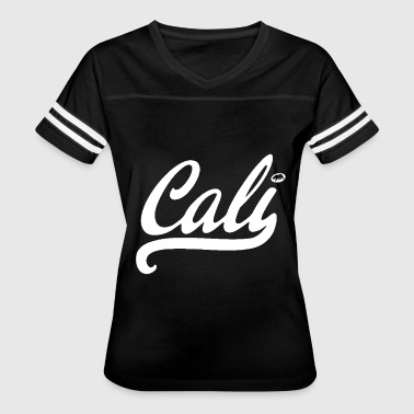 CALI white state bear surfing all style California - Women's Vintage Sport T-Shirt