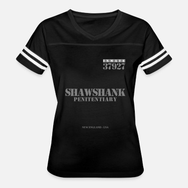 Inmate Funny The Shawshank Redemtion - Inmate T-Shirt - Women's Vintage Sport T-Shirt