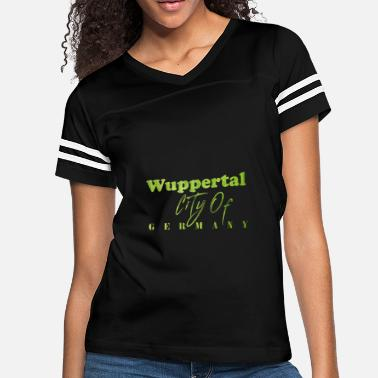 Germany Wuppertal City of Germany - Women's Vintage Sport T-Shirt