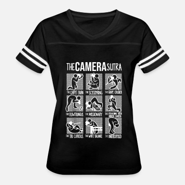 Comma Sutra The Camera Sutra Funny T shirt - Women's Vintage Sport T-Shirt