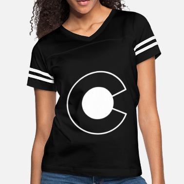 616d106bb21c Colorado Logo Threadrock Men s White Colorado Logo Denver State -  Women's. Women's Vintage Sport T-Shirt