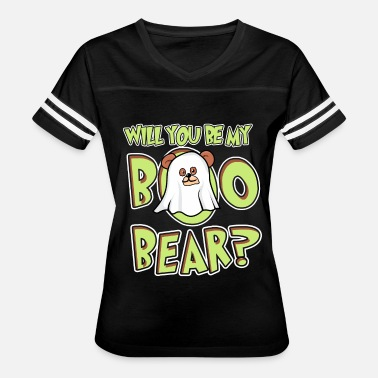 Custom Bear Boo Bear Cute Teddy Bear Polar Bear Halloween Couples Dark - Women's Vintage Sport T-Shirt